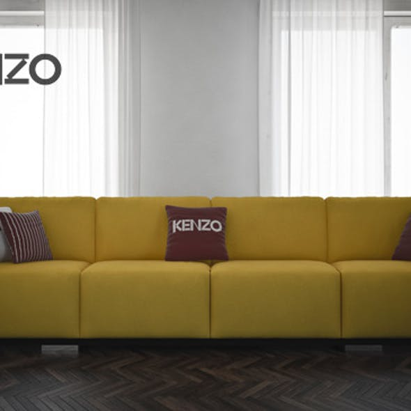 Sofa Place Vendome by Kenzo Maison