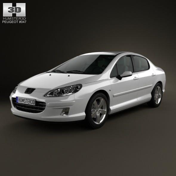 Peugeot 407 sedan 2004 - 3DOcean Item for Sale