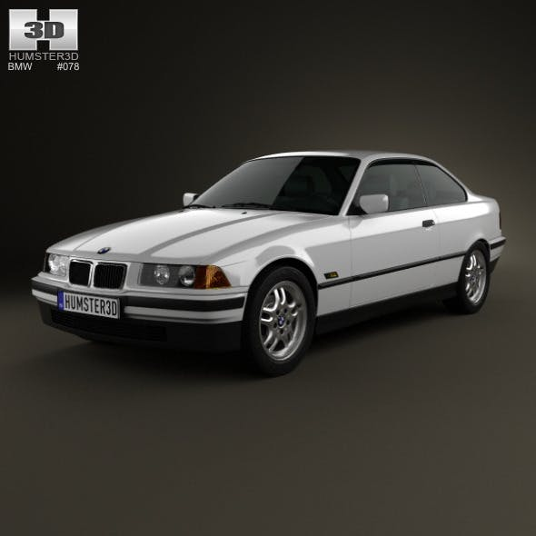 BMW 3 Series (E36) coupe 1994 - 3DOcean Item for Sale