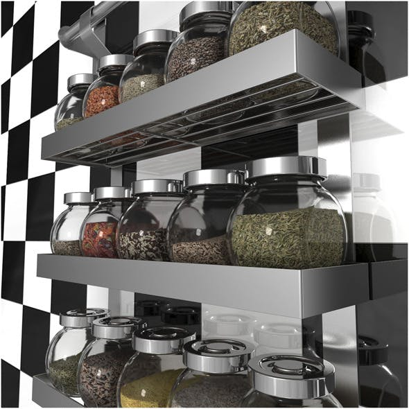 GRUNDTAL Spice Rack by IKEA