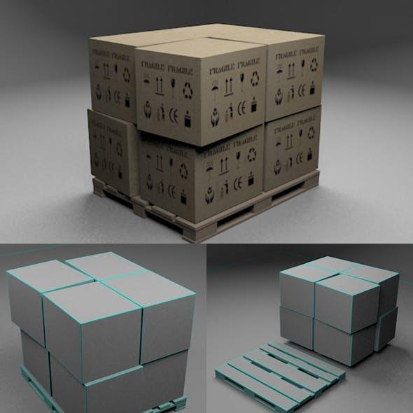 Pallet & Boxes