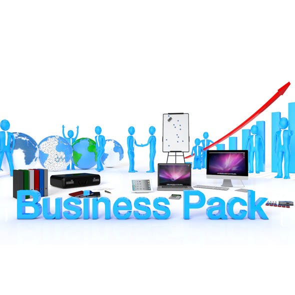 Business Pack - 3DOcean Item for Sale
