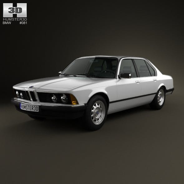 BMW 7 Series (E23) 1982 - 3DOcean Item for Sale