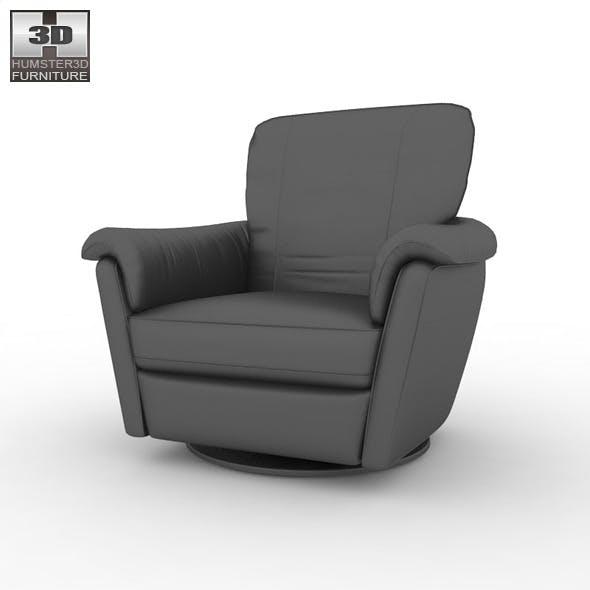 IKEA ALVROS Swivel armchair - 3D Model.