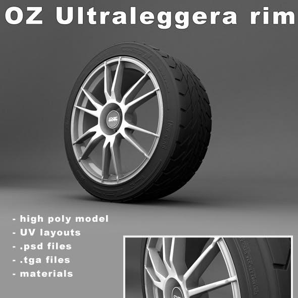 OZ Ultraleggera rim