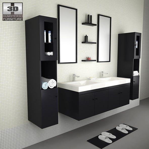 Bathroom furniture 08 Set - 3DOcean Item for Sale