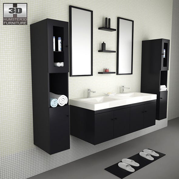 Bathroom furniture 08 Set