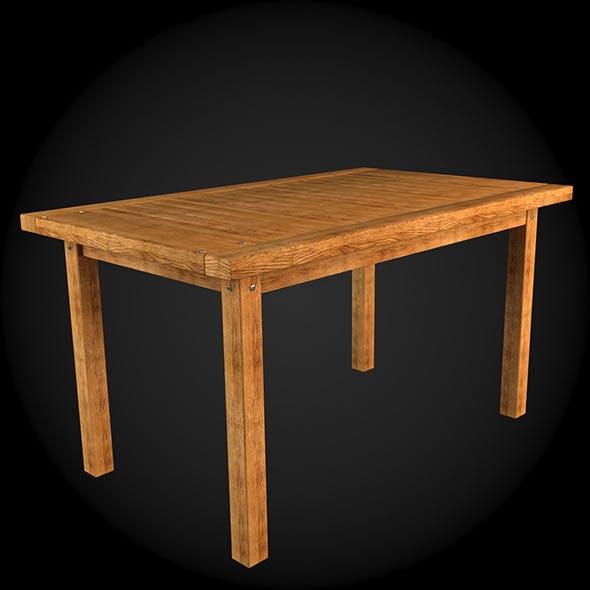 Garden Furniture 003 - 3DOcean Item for Sale
