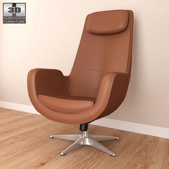 IKEA ARVIKA Swivel armchair - 3D Model. - 3DOcean Item for Sale