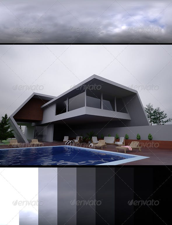 Realsky HDRI Overcast 1440 - 3DOcean Item for Sale