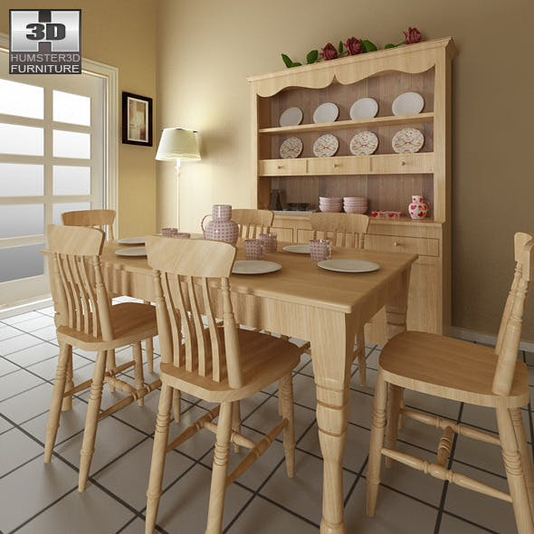 Dining room furniture 6 Set