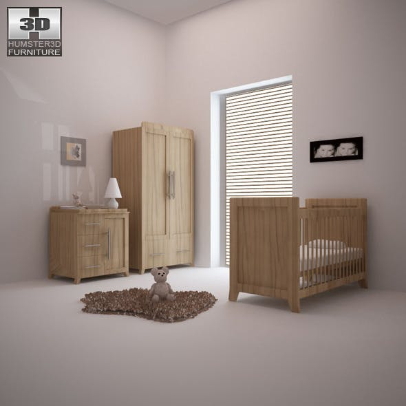 Nursery room furniture 09 Set