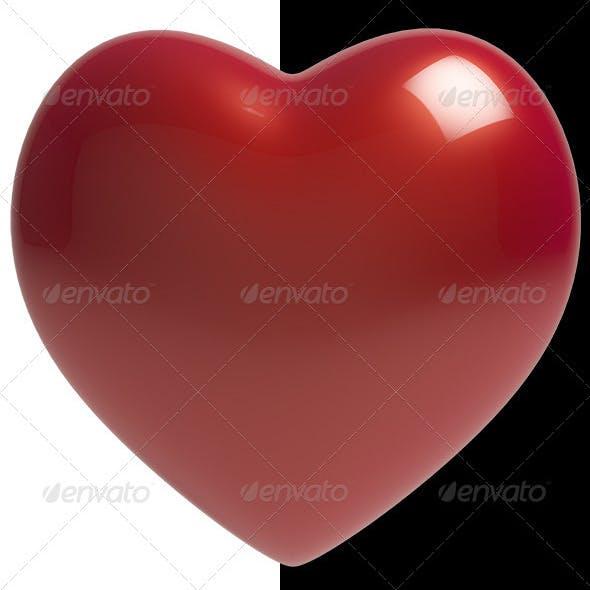 Heart (VrayC4D) - 3DOcean Item for Sale