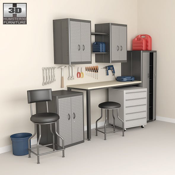 Garage furniture 05 Set