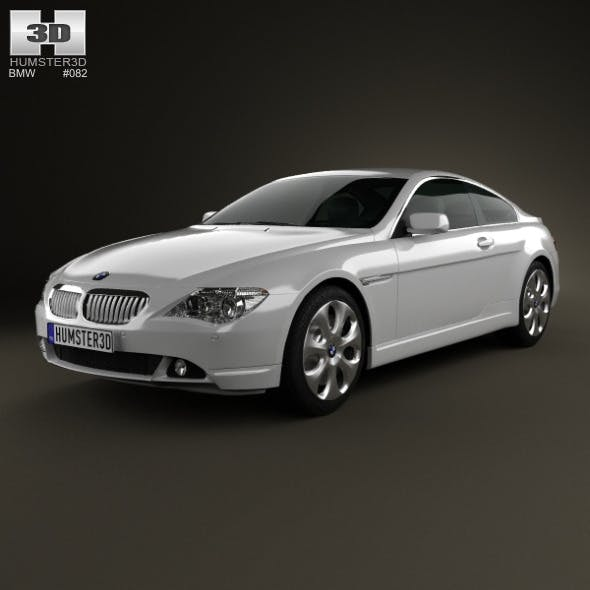 BMW 6 Series (E63) coupe 2004 - 3DOcean Item for Sale