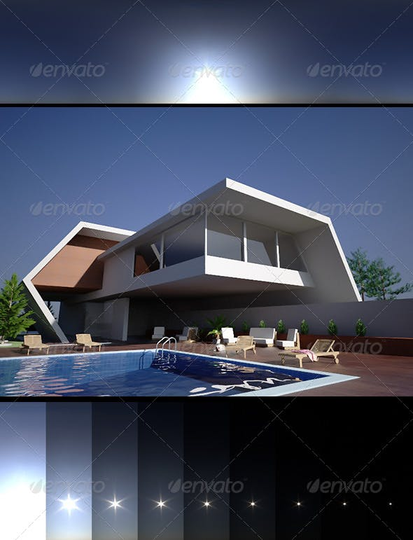 Realsky HDRI BlueClear 1414 - 3DOcean Item for Sale