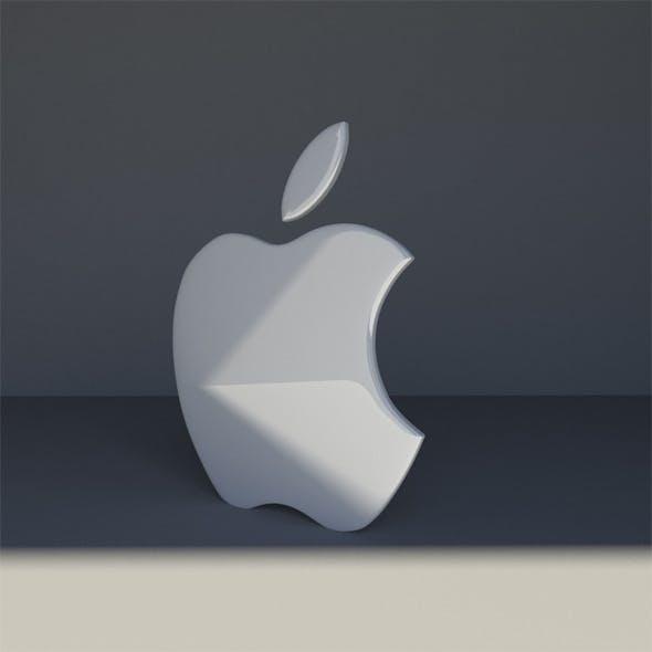 Mac Logo - 3DOcean Item for Sale