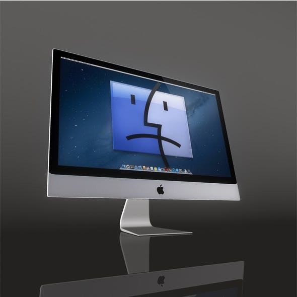 Mac Monitor - 3DOcean Item for Sale