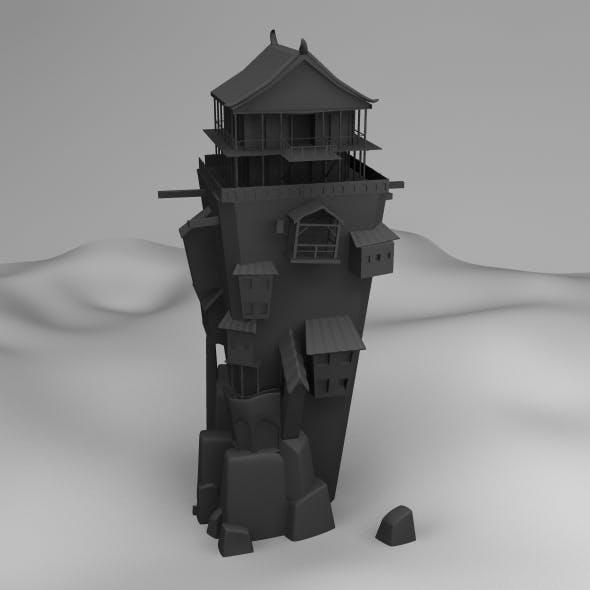 Old Building - 3DOcean Item for Sale