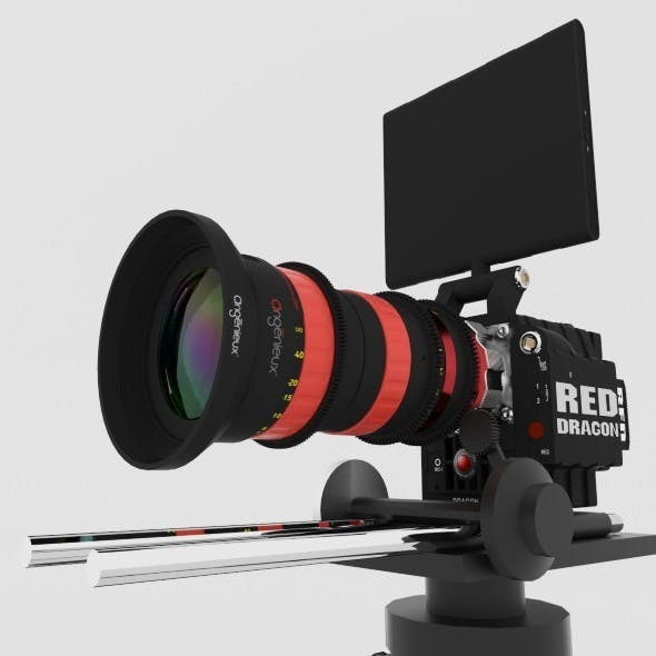 RED DRAGON 6K + Angenieux Optimo DP 30-80mm T2.8