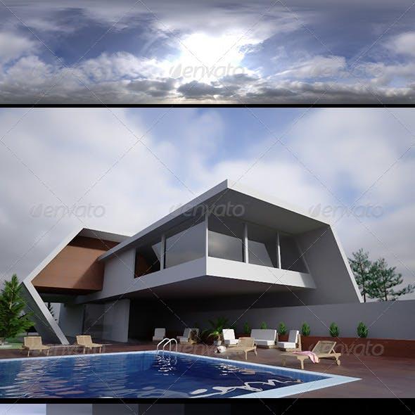 Realsky HDRI Blue Cloudy 1430