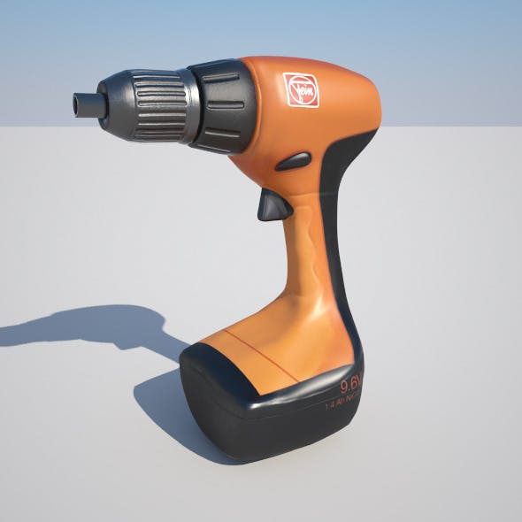 Handy Drill - 3DOcean Item for Sale