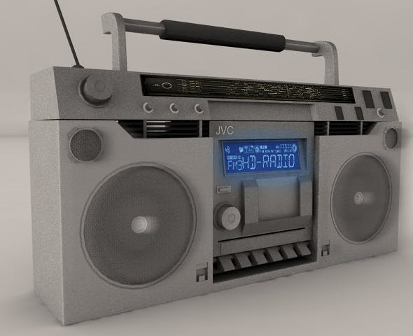 Boombox - 3DOcean Item for Sale