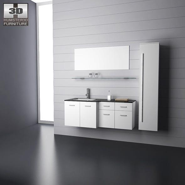 Bathroom furniture 09 Set