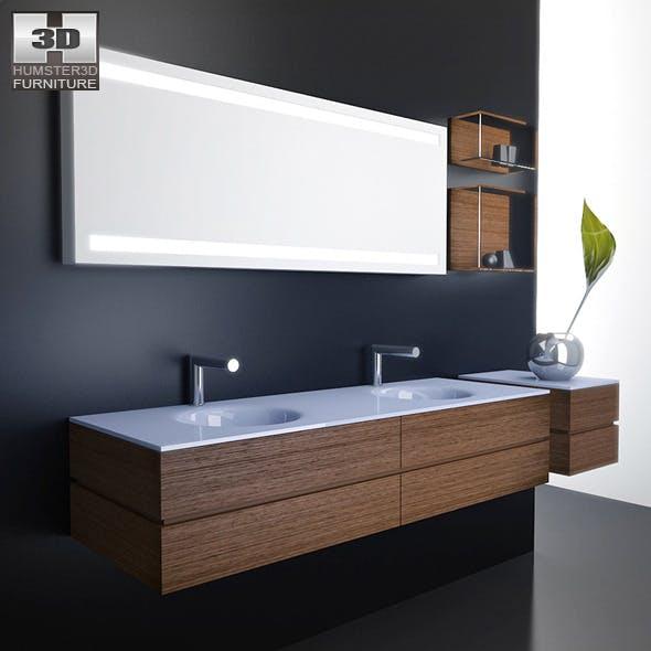 Bathroom furniture 10 Set - 3DOcean Item for Sale