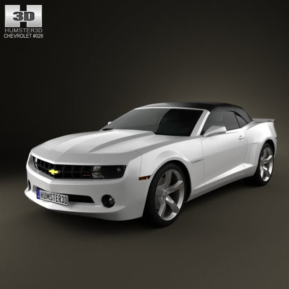 Chevrolet Camaro 2LT RS Convertible 2011 - 3DOcean Item for Sale