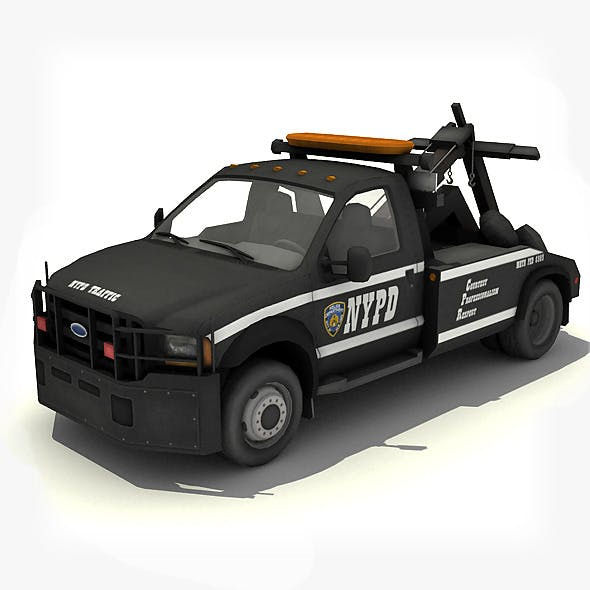 NYPD Tow Truck