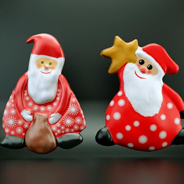 Santa Claus Magnet Toy