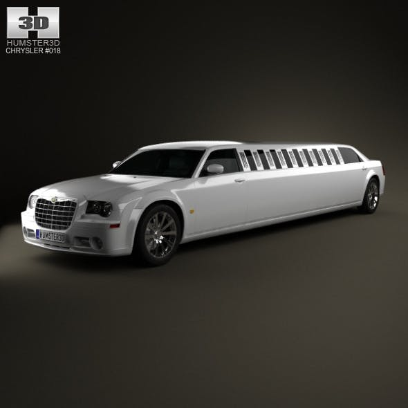 Chrysler 300C limousine 2009 - 3DOcean Item for Sale