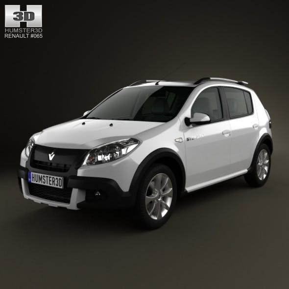 Renault Sandero Stepway (BR) 2011 - 3DOcean Item for Sale