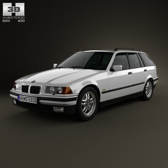 BMW 3 Series (E36) touring 1994 - 3DOcean Item for Sale