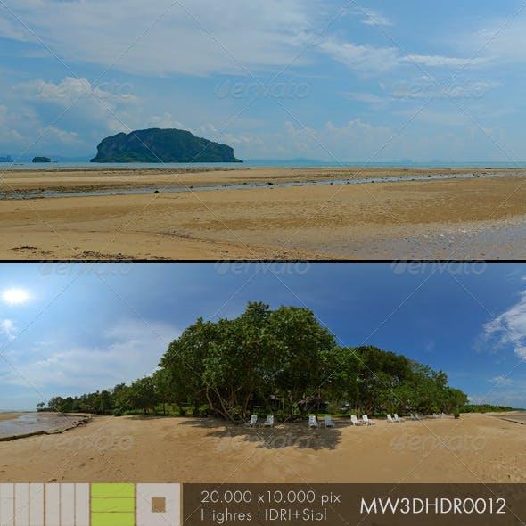 MW3DHDR0012 Ko Yao Island Beach Thailand
