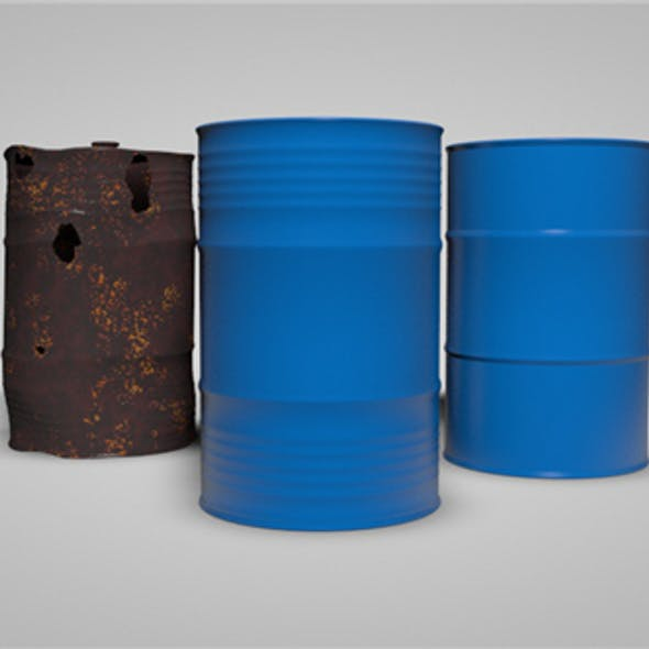 2 Types of Oil Barrels