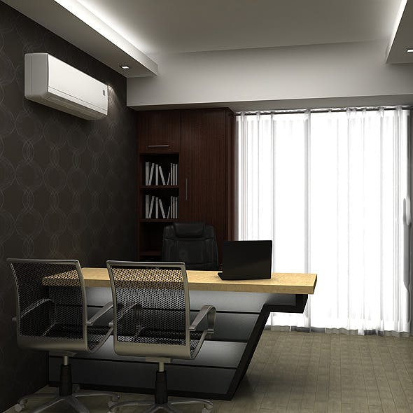 Realistic Md Room  - 3DOcean Item for Sale