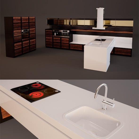 Kitchen Set - 3DOcean Item for Sale