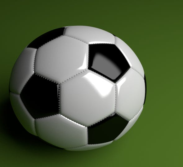 Football Ball  - 3DOcean Item for Sale