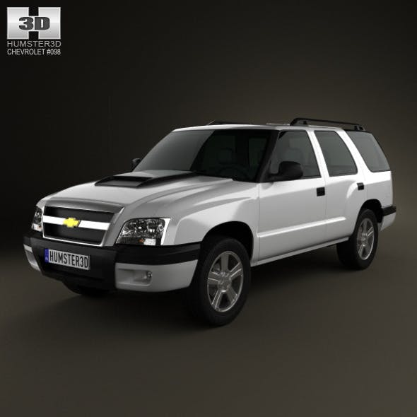 Chevrolet Blazer (BR) 2008 - 3DOcean Item for Sale