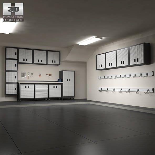 Garage furniture 06 Set