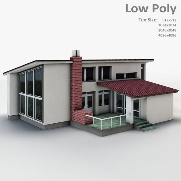 Building 001 - 3DOcean Item for Sale