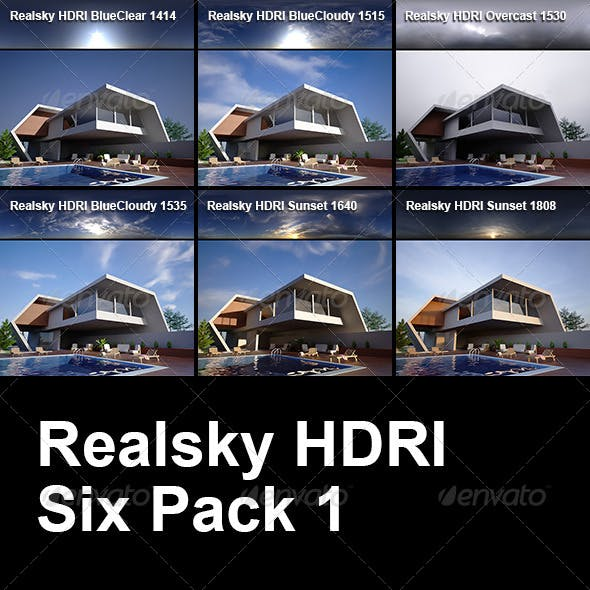Realsky HDRI Six Pack 1