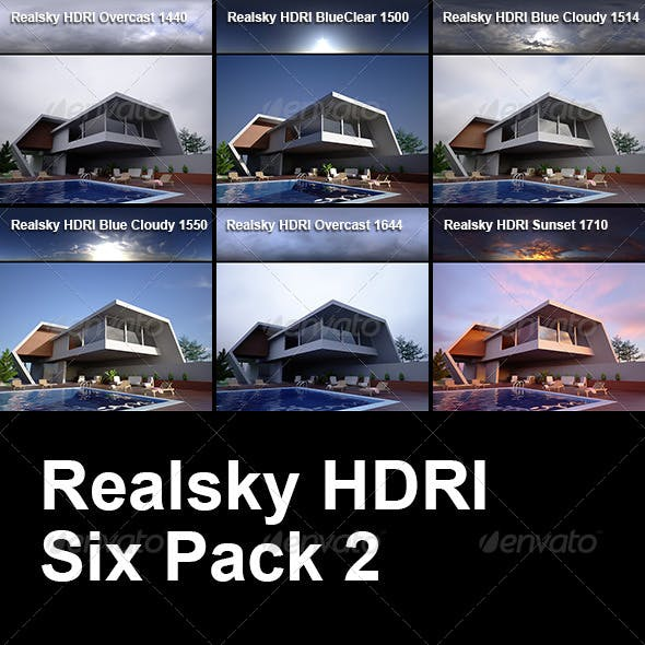 Realsky HDRI Six Pack 2