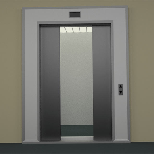 Elevator + Doors animated