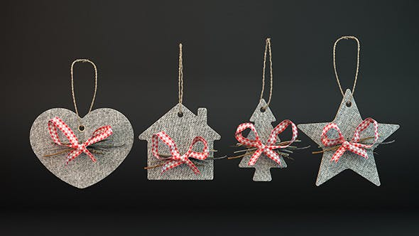 Christmas Deco - 3DOcean Item for Sale
