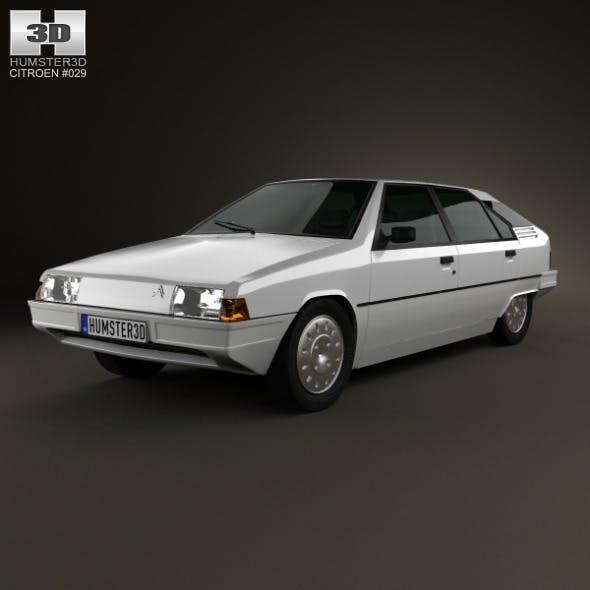 Citroen BX 1984 - 3DOcean Item for Sale