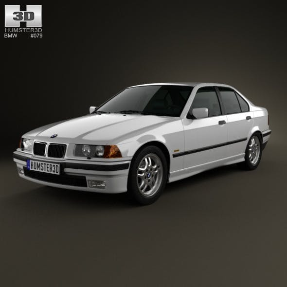 BMW 3 Series (E36) sedan 1994 - 3DOcean Item for Sale