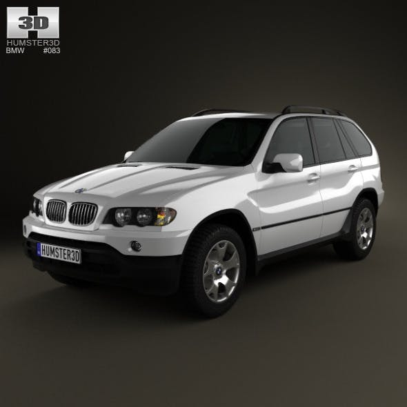 BMW X5 (E53) 2000 - 3DOcean Item for Sale